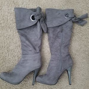 Anne Michelle stiletto boots